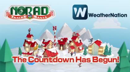 Follow St. Nick Around the Globe With NORAD & WeatherNation