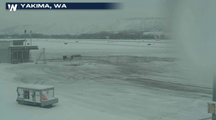 Snow Continues in the West, Ice in Oregon