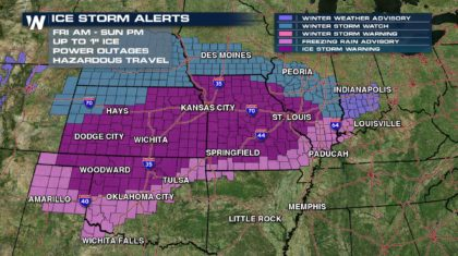 Oklahoma Under State of Emergency Ahead of 'Crippling' Ice Storm