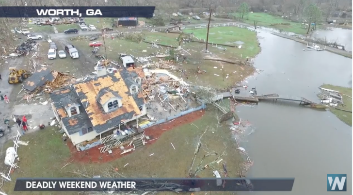 WATCH: Deadly Spring Like Severe Weather Outbreak