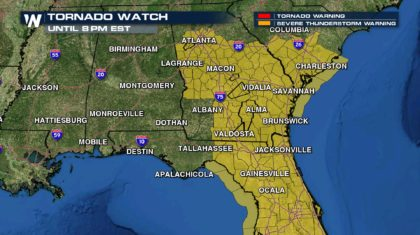 Three Different PDS Tornado Watches Issued