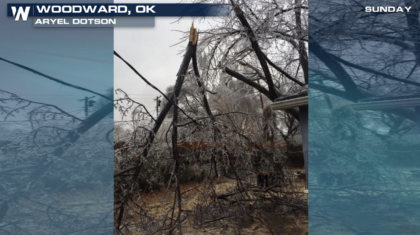 Ice Storm Continues in the Plains