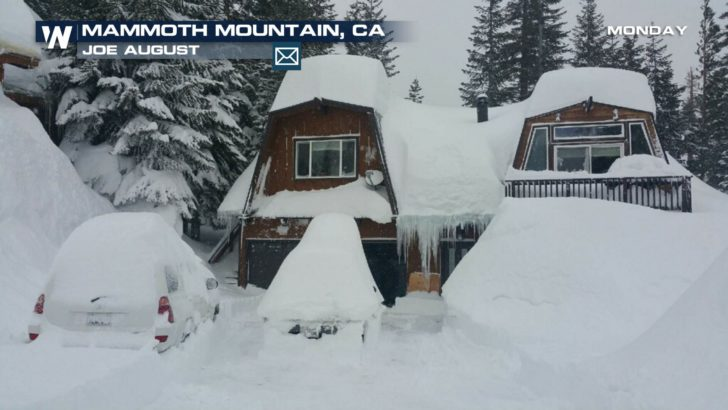 Snowiest Month on Record for Mammoth Mountain