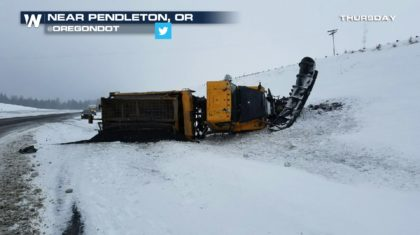 Winter Weather to Snarl Traffic in Pacific Northwest