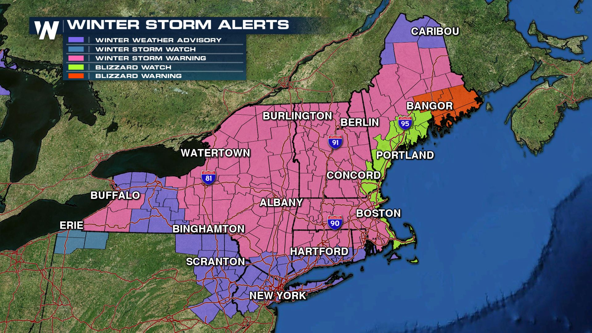 New England Prepares For Second Blizzard Within a Week