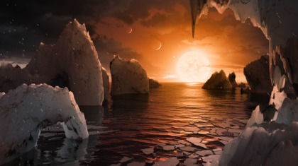 NASA Telescope Reveals Seven Earth-Size, Habitable-Zone Planets Around Single Star