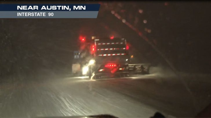 High Plains, Midwest Slammed By Snow