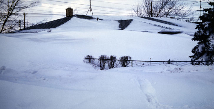 Snowiest Place in New York has 25 Feet and Counting