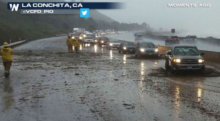 Flash Flooding and Mudslide Concerns in California