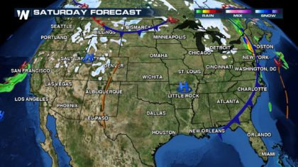 Your Weekend Weather Outlook