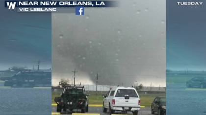 Six Tornadoes in Louisiana Tuesday, 2 Strong Tornadoes