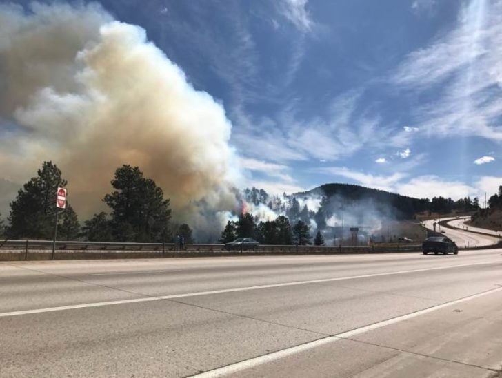 Fire West of Denver Quickly Squashed
