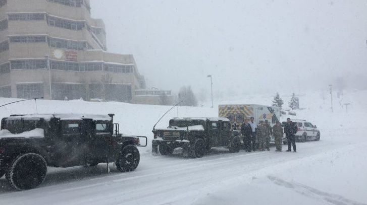 National Guard & State Police Escort Toddler During Nor'easter for Emergency Heart Surgery