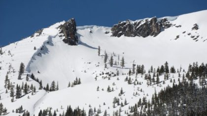 Near Record Snowpack in the Sierra