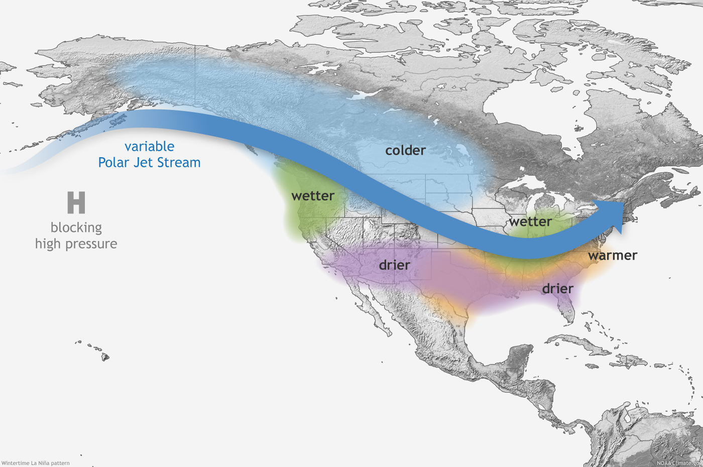 Winter How Did The Forecast Hold Up WeatherNation - Us jetstream map