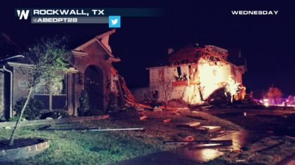 Texas Rocked By Severe Storms