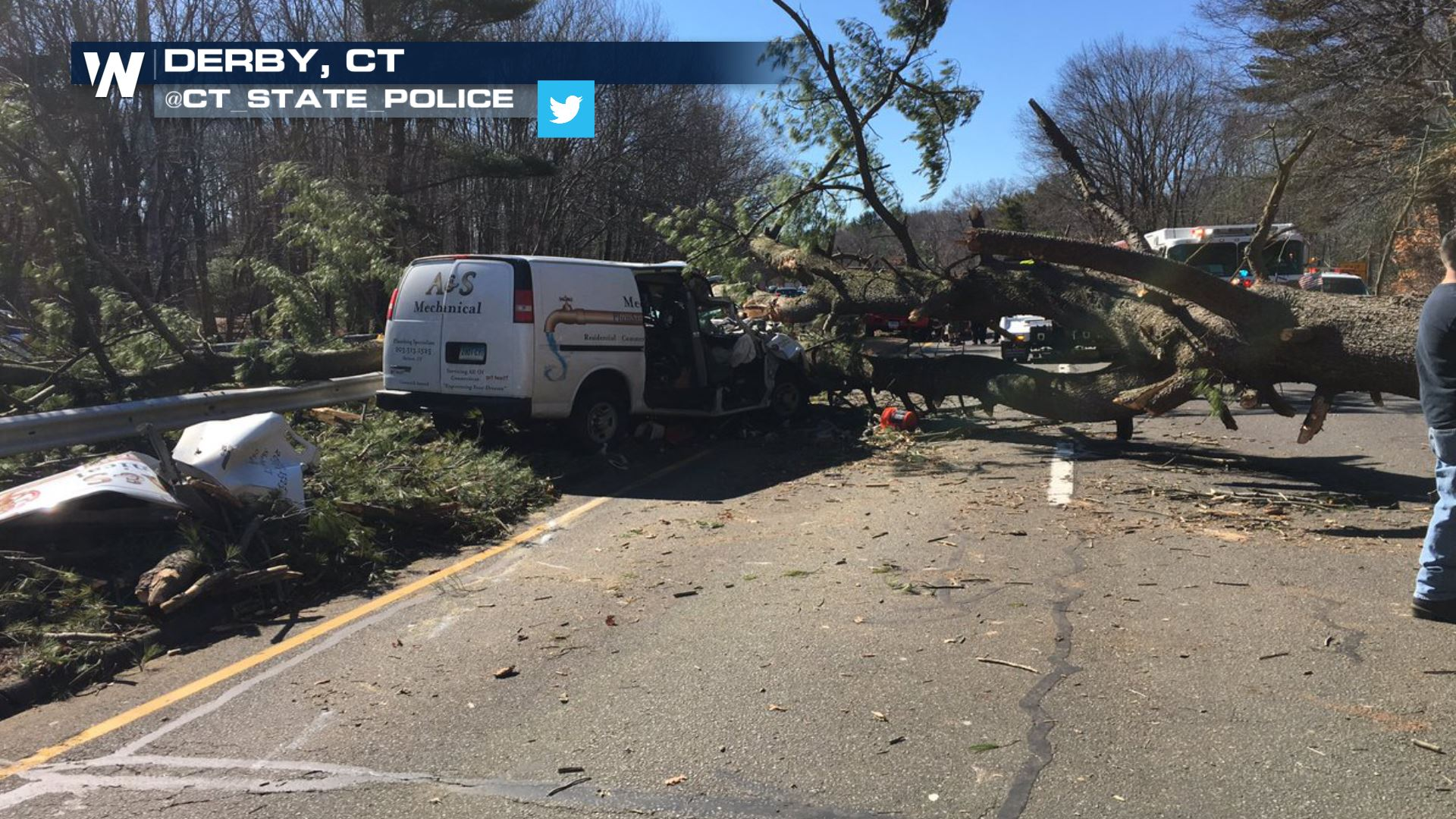 Strong Winds Kill Two, Knock Out Power in Northeast ...