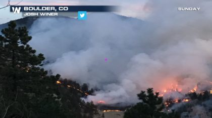 Wildfire Prompts Evacuations Near Boulder Colorado