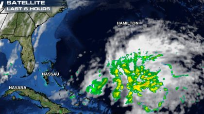 A Named Storm in the Atlantic?