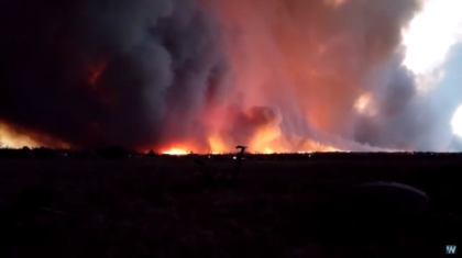 Wildfires Continue to Burn in Texas Panhandle