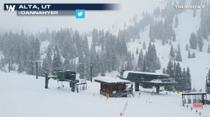 More Snow in the West, Blizzard Warning on the Front Range
