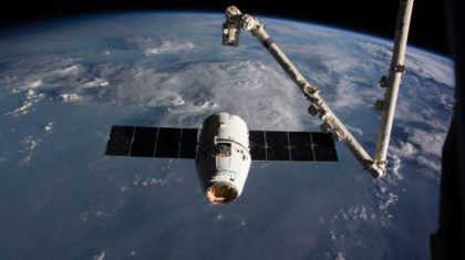 SpaceX Cargo Craft Departs International Space Station