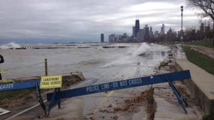 Windy City Lake Shore Braces for Impact