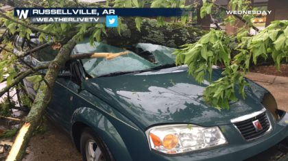 Severe Storms Ravaged South, Central U.S. (with photos)