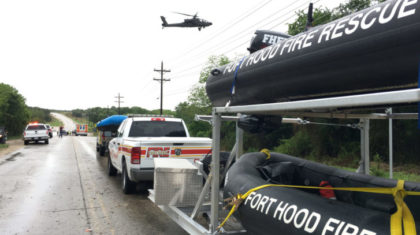 Video: Search Continues For Missing Fort Hood Driver Swept Away in Flash Flood