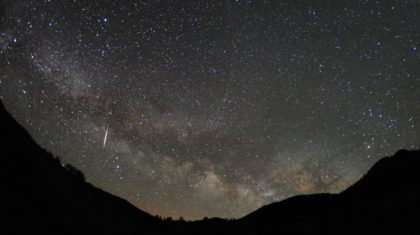 Lyrid Meteor Shower Peaks Friday Night