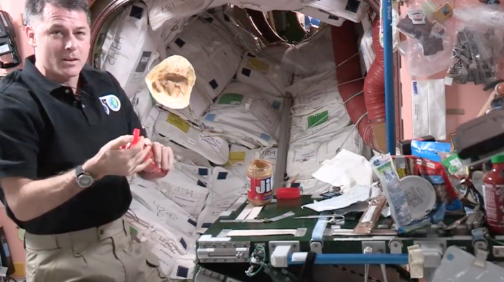WATCH: How to Make a PB&J in Space