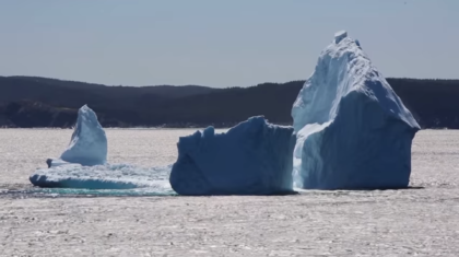 Giant Icebergs Spotted Off the Newfoundland Coast