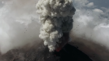 Drones Used to Analyze Ash Clouds from Guatemalan Volcano