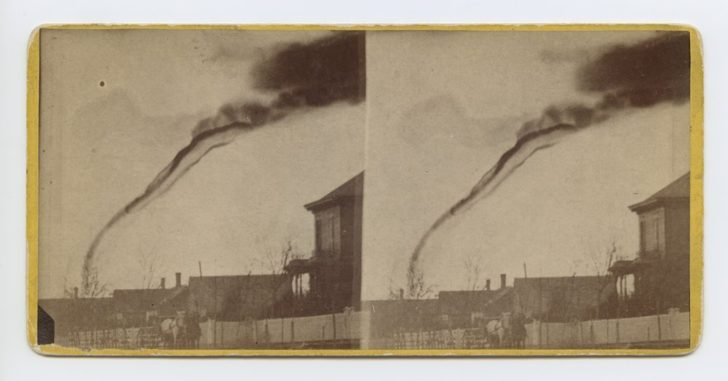 f9fbb09cd6 The stereograph is cropped more tightly on the twister and also was  probably produced by Adams for resale. The images are held in the Library &  Archives ...