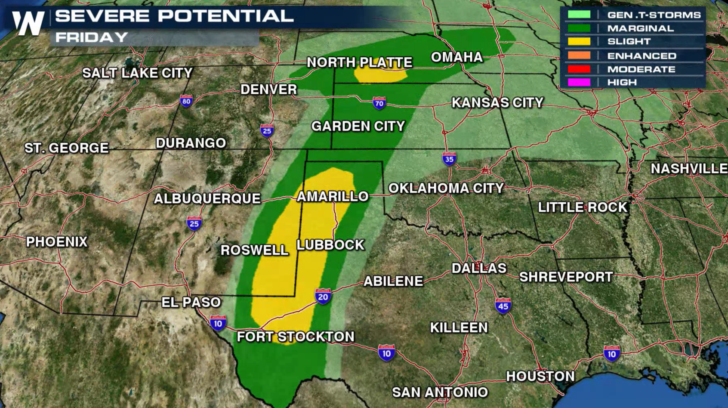 Severe Weather Possible in the Plains Tonight Through This Weekend ...
