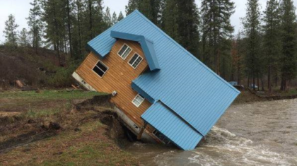 Flooding Wreaking Havoc in Northeast Washington
