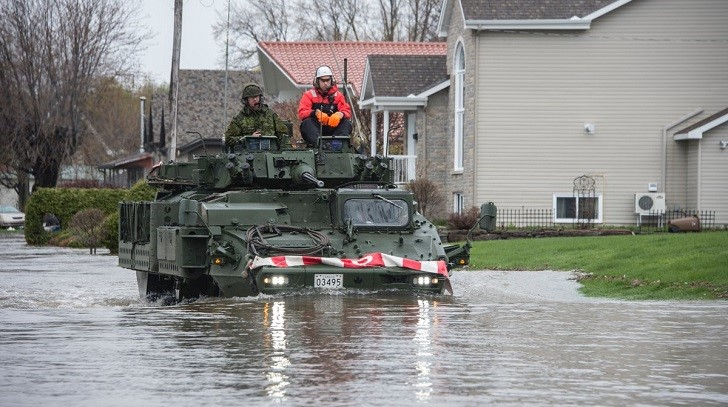 Major Flooding Hits Ontario and Quebec in Canada