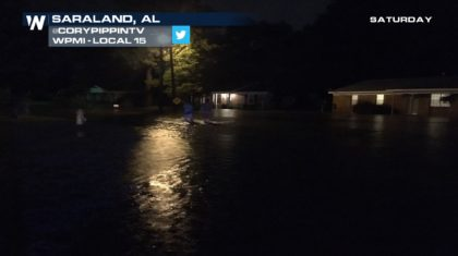 Flash Flooding Invades Alabama Saturday Night