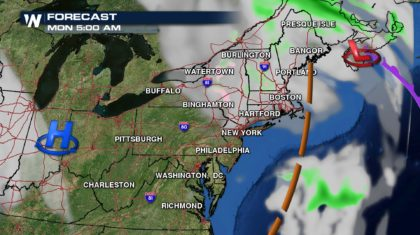 Snow Coming to the Northeast