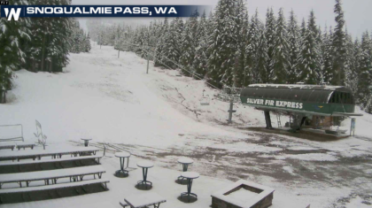 Winter Weather Returns to the West