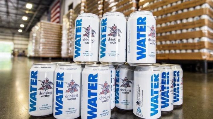 Anheuser-Busch Sending 150,000 + Cans of Emergency Drinking Water to Flood Victims