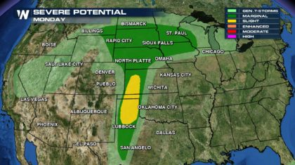 Hail, Wind, & Tornadoes All Possible This Week