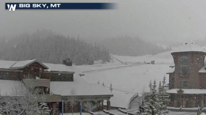 Late Season Snow Continues to Fall in the West