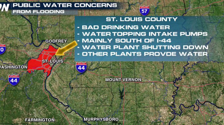 Flooding Concerns Continue from the Plains to the Northeast