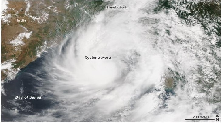 Cyclone Mora Hits Vulnerable Bangladesh