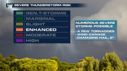 Second Severe Weather Season Approaches - WeatherNation