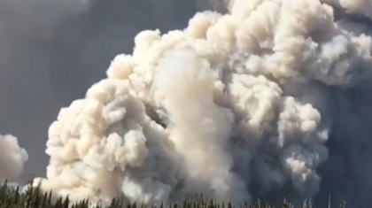 Brian Head Fire Explodes in Size Overnight