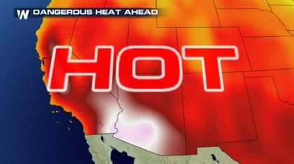Heat Concerns Mounting out West