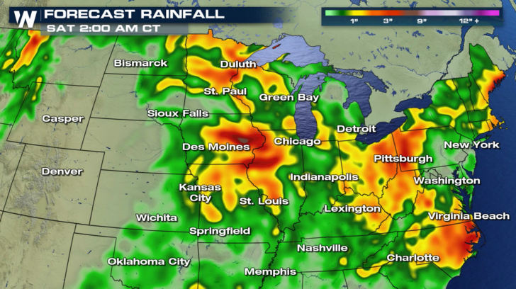 Flood Watches In The Ohio Valley And Northwest Weathernation