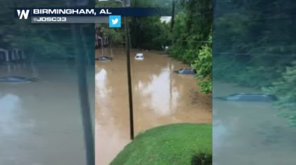 Flooding Threat Back for More in Birmingham